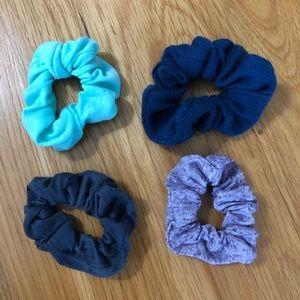 Bundle of 4 scrunchies